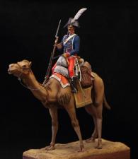 Private of the Dromedaries Regiment, France 1800-01