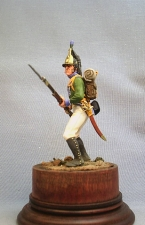Private of the 2nd battalion of light infantry, Wurtemberg 1805-06