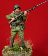 Red Army infantryman, 1938-41