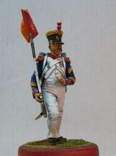 Sergeant-major of the 63rd line regiment, France 1812