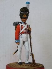 Grenadier of an infantry regiment of the Kingdom of Denmark, 1807
