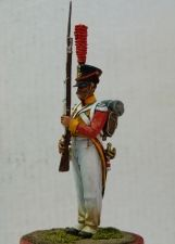 Saxon grenadier of the Life-Guard regiment, 1813