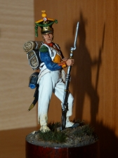 Voltiger of the 4th Infantry Regiment of the Duchy of Warsaw, 1809-11