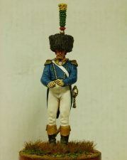 Officer voltiger of the 24th line regiment, France 1806–08