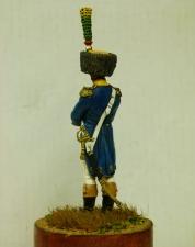 Officer voltiger of the 24th line regiment, France 1806–08