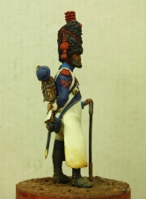 Sapper of the 24th line infantry regiment, France 1808