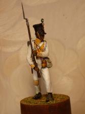 """Фузелер 7-го линейного пехотного полка """"Королевский Африканский"""", Неаполь 1812-13 гг."""