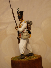 """Fusilier of the 7th Line Infantry Regiment """"Royal African"""", Naples 1812-13"""