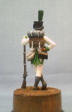Fuziler of the 5th foreign regiment of the principality Lipe-Delmond, 1807-09