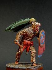 Aztec Jaguar warrior, XIV-XVI century