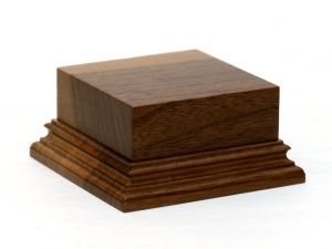 Wooden base - American Walnut 50-50. h-30