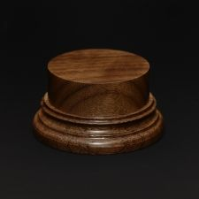 Wooden base - American Walnut 45. h-30