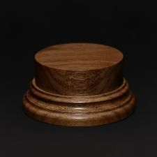 Wooden base - American Walnut 50. h-30