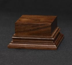 Wooden base - American Walnut 45-45. h-30