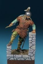 Byzantine light infantryman, 10-11 century